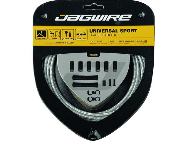 Jagwire Sport Universele Remkabelset voor Shimano/SRAM, sterling silver